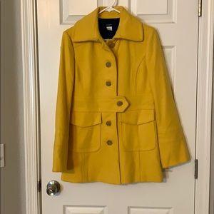 J Crew pea coat; size 10